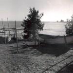 3. Fiskehamnen i högvatten 1940-talet
