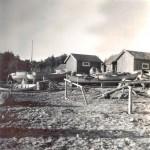 1. Vid gamla fiskehamnen 1940-talet