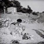 14. Badstranden vid Revsviken 1944