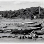 15. Utsikt från lotsbryggan 1950-talet