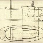 20 Ritning av lotsbåt