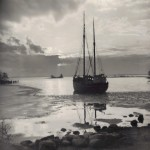23. Skuta i is vid Varvet ca 1956