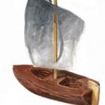 23. Barkbåt
