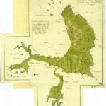 28. Geografisk karta delar över Skäggenäs