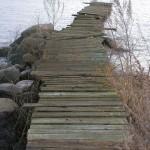 Vågar jag gå på den bryggan?
